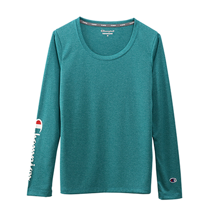 ウィメンズ C VAPOR ロングスリーブTシャツ 19FW 【秋冬新作】スポーツ チャンピオン(CW-QS402)