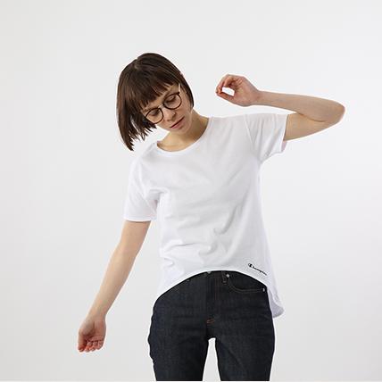 ウィメンズ Tシャツ 19SS チャンピオン(CW1-P101)