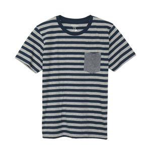 ボーダーポケットTシャツ 15FW ヘインズカジュアル ヘインズ(H3-C302)
