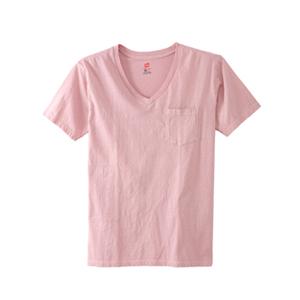 ポケット付きVネックTシャツ 18SS ヘインズスポーツウェア ヘインズ(H3-M311)