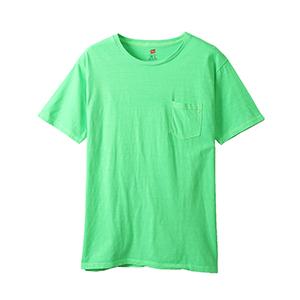 ポケット付きTシャツ 19SS ヘインズスポーツウェア ヘインズ(H3-P311)