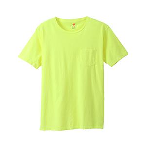 ポケット付きTシャツ 19SS【春夏新作】ヘインズスポーツウェア ヘインズ(H3-P311)
