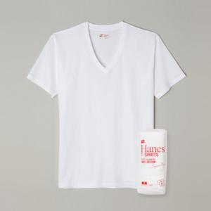 ジャパンフィット【2枚組】VネックTシャツ 18FW Japan Fit ヘインズ(H5115)
