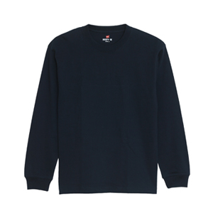 ビーフィーロングスリーブTシャツ 18SS BEEFY-T ヘインズ(H5186)