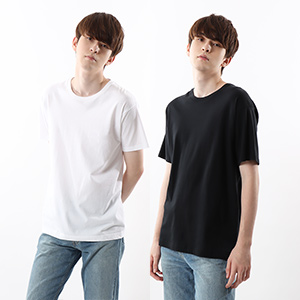 ジャパンフィット【2枚組】クルーネックTシャツ 5.3oz 19SS【春夏新作】Japan Fit ヘインズ(H5320)
