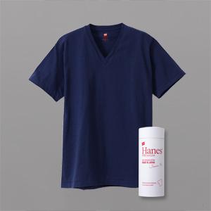 ヘインズ プレミアムジャパンフィット VネックTシャツ 18FW PREMIUM Japan Fit(HM1-F002)