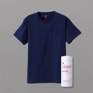 ヘインズ プレミアムジャパンフィット ポケット付クルーネックTシャツ 18FW PREMIUM Japan Fit(HM1-F004)