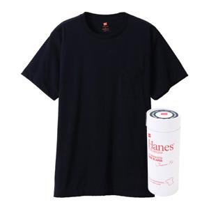 ヘインズ プレミアムジャパンフィット ポケット付クルーネックTシャツ 20FW PREMIUM Japan Fit(HM1-F004)