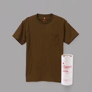 ヘインズ プレミアムジャパンフィット ポケット付クルーネックTシャツ PREMIUM Japan Fit(HM1-F004)