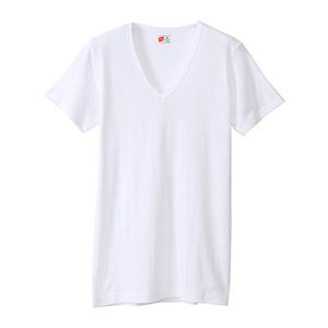 【2枚組】ビズ魂 VネックTシャツ 20FW 魂シリーズ ヘインズ(HM1-M702)