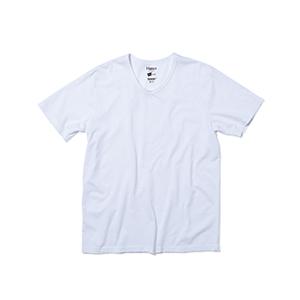 VネックTシャツ 19SS Hanes colors ヘインズ(HM1-P102)
