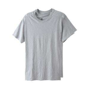 【2枚組】オープンエンドクルーネックTシャツ 18FW グローバルバリューライン ヘインズ(HM1EG752)