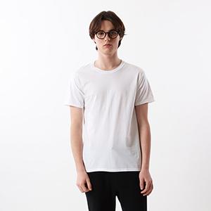 【2枚組】ビジカジ魂 クルーネックTシャツ 18FW 【秋冬新作】魂シリーズ ヘインズ(HM1EN701)