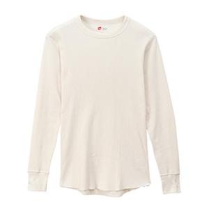 サーマル クルーネックロングスリーブTシャツ 20FW ヘインズ(HM4-Q501)