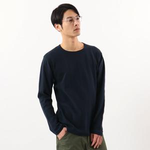 ヘインズ プレミアム クルーネック リブロングスリーブTシャツ 20FW PREMIUM ヘインズ(HM4-S001)