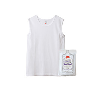 ウィメンズ スリーブレスTシャツ Hanes THE TEE BAR ヘインズ(HW3-R203)