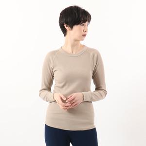 ウィメンズ サーマル クルーネックTシャツ 20FW HANES UNDIES ヘインズ(HW4-Q501)