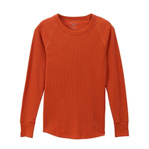 ウィメンズ サーマルクルーネックTシャツ 19FW 【秋冬新作】Hanes Undies ヘインズ(HW4-Q501)