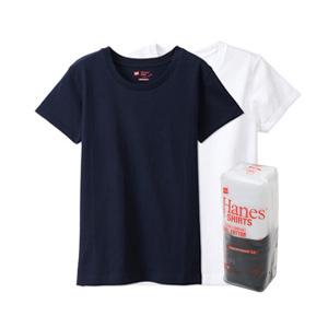 ウィメンズ ジャパンフィット【2枚組】クルーネックTシャツ 5.3oz 20SS Japan Fit for HER ヘインズ(HW5320)