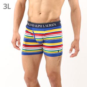 Multi Stripe ボクサーブリーフ  ポロ ラルフ ローレン【前開き】(RM3-R305)