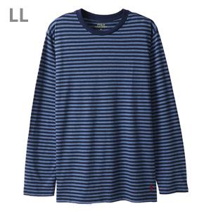 ストライプ ロングスリーブTシャツ ポロ ラルフ ローレン(RM8-M301A)