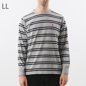 ストライプ ロングスリーブ ワッフルTシャツ 20FW ポロ ラルフ ローレン(RM8-S303)