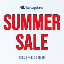 【SALE】チャンピオン春夏コレクション「サマーセール」本日スタート!