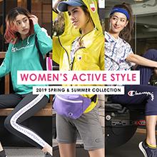 「WOMEN'S ACTIVE STYLE」の新作コレクション特設ページ公開