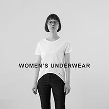 「WOMEN'S UNDERWEAR」新作コレクション特設ページ公開